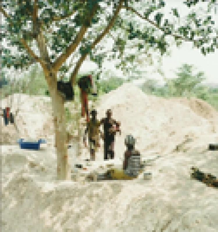 OEARSE- carrière de Kabala à Manono SEPT 2015 (2)